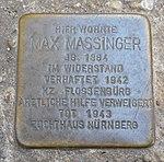 Stolpersteine Regensburg Massinger.jpg
