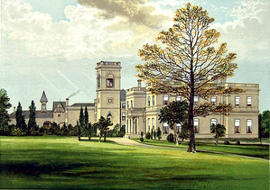 Stowlangtoft - Stowlangtoft Hall, built 1859, in 1880, by Francis Orpen Morris