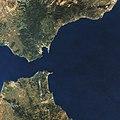 Strait os Gibraltar Cloudless Landsat - 8871945777.jpg