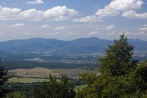Strážov Mountains Protected Landscape Area - Strážov Mountains from Vtáčnik Mts.