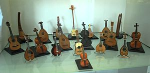 Museo de Arte Popular - Collection of folk string instruments