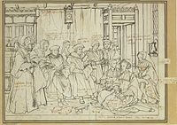 Study for portrait of the More family, by Hans Holbein the Younger.jpg