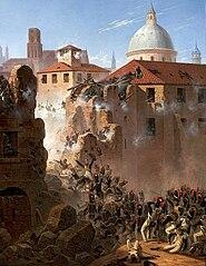 Assault on Saragossa.