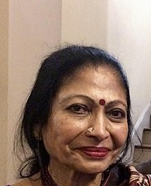 Vidushi Sumitra Guha at a music tour at Paris, France on the occasion of Indian Republic Day celebrations.
