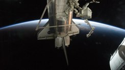 Податотека:Sun Rising on the Final Shuttle Mission.ogv