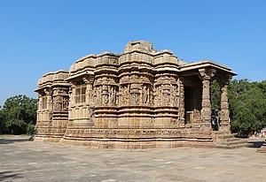 Sun Temple, Modhera - Gudhamandapa