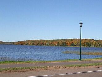 Wakefield, Michigan - Sunday Lake in Fall
