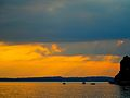 Sunset over Madison ^ Lake Mendota - panoramio.jpg