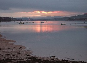 Sunset over River Teign - geograph.org.uk - 379534.jpg