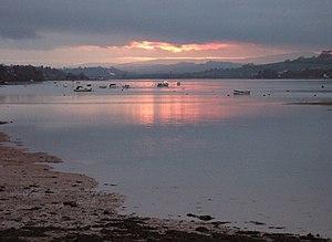 River Teign - The Teign estuary at sunset