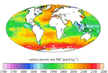 Surface ocean present-day DIC concentration, GLODAPv2.png