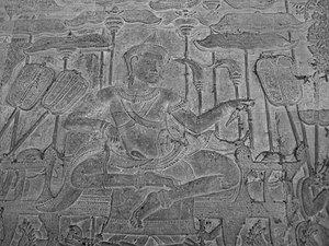 Angkor Wat - King Suryavarman II, the builder of Angkor Wat