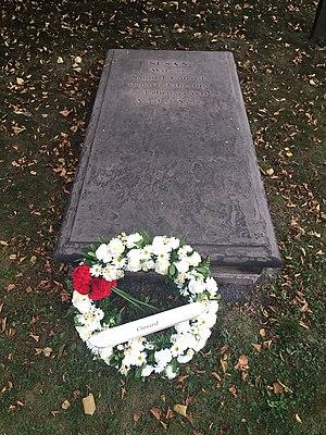 Samuel Cunard - Cunard's wife Susan, d. 1828, Old Burying Ground (Halifax, Nova Scotia)