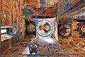 Suzdal Spaso-YevfimiyevMonastery CathedralFrescos 9460.jpg