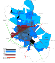 Swindon's Urban Growth 1800-1965