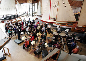 Maritime Museum of the Atlantic - Symphony Nova Scotia performs at the Museum's Small Craft Gallery