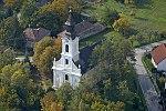Szent Anna templom, Lesencetomaj légi fotó.jpg