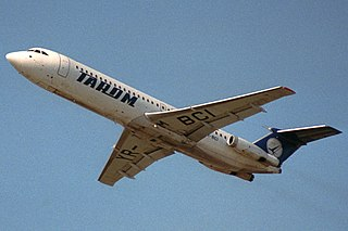 BAC One-Eleven British short-range jet airliner used from the 1960s to the 1990s