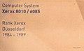 TSD Computer -,Schreib und Bürotechnik Computer System Xerox 8010 - 6085 II.jpg