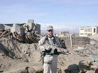 John A. Chapman US Air Force Master Sgt who was posthumously awarded the Medal of Honor