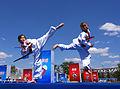 Taekwondo kids at China.jpg