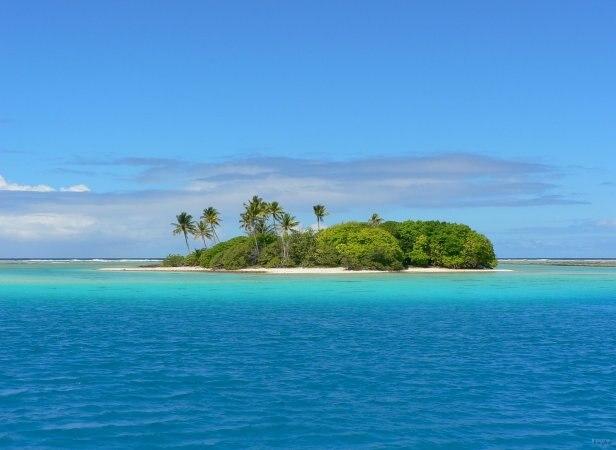 Tahuna maru islet Raroia