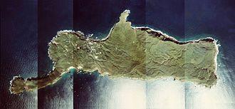 Takeshima (Kagoshima) - Image: Takeshima Island Kagoshima Prefecture Aerial photograph.1977