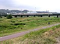 Tamagawa Railway bridge of Nambu Line.jpg
