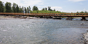 Tamir River - Tamir River near Tsetserleg, Arkhangai