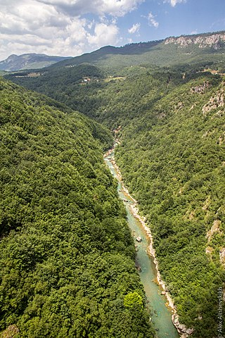Tara Canyon, deepest canyon in Europe
