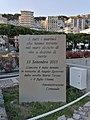 Targa commemorativa di Angelo Spotorno e dei marinai morti in mare sul Lungomare Guglielmo Marconi - Spotorno.jpg