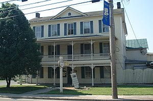 National Register of Historic Places listings in Grant County, West Virginia - Image: Taylor Cunningham Hotel 2