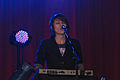 Tegan (and Sara) on keyboard at the Malkin Bowl.jpg