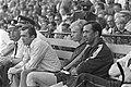 Telstar tegen Feyenoord 1-3 nr. 19,20 v.l.n.r. Happel, Geels, Pieters Graaflan, Bestanddeelnr 922-6961.jpg