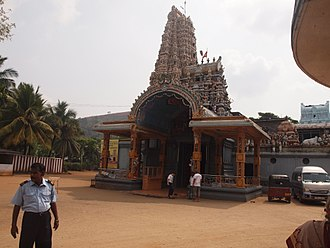 Matale - Image: Temple in Matale
