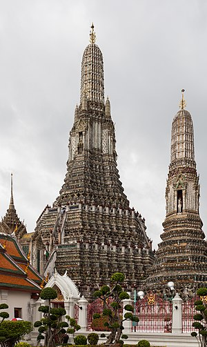 Wat Arun - Image: Templo Wat Arun, Bangkok, Tailandia, 2013 08 22, DD 29