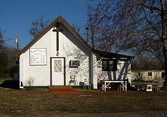 Park Hill, Oklahoma - Image: Tender mercy church park hill ok