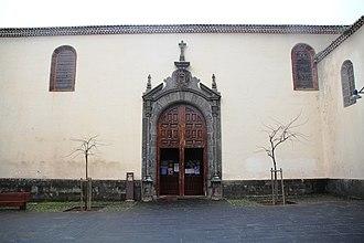 Iglesia de la Concepción (San Cristóbal de La Laguna) - Image: Tenerife La Laguna Iglesia San Lazaro IMG 4878