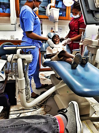 A dentist's office in Lagos Teni at the Dentist's.jpg