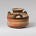 Terracotta alabastron (jar) MET DP121150.jpg