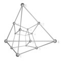 Tesseract tetrahedron shadow.png