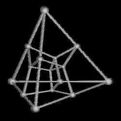 Tesseract tetrahedron shadow.png