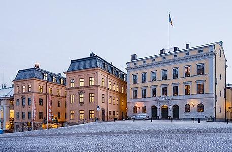 Tessinska palatset Slottsbacken 4 Gamla Stan Stockholm 2016 01.jpg