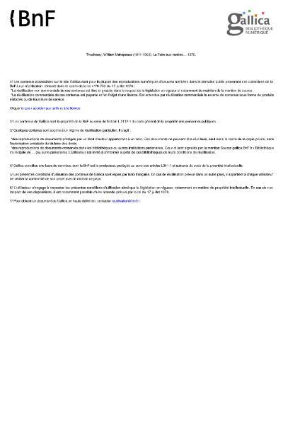 File:Thackeray - La Foire aux Vanites 2.djvu