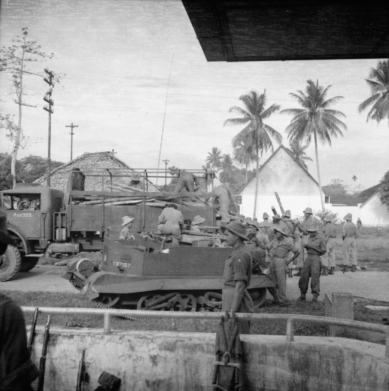 The Allied Occupation of Sumatra SE7515
