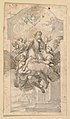 The Ascension of Saint Benedict; verso- Ornamental sketches MET DP819304.jpg
