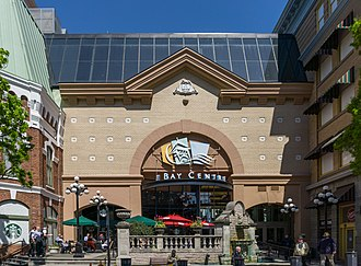 Bay Centre - Image: The Bay Centre, Victoria, British Columbia, Canada 09