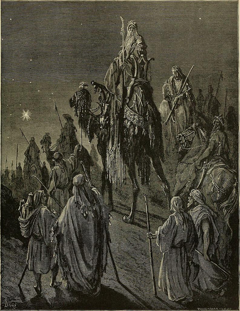 동방박사의 방문 (귀스타브 도레, Gustave Dore, 1865년)