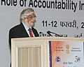 The Chief Justice of India, Justice P. Sathasivam addressing at the valedictory function of the Golden Jubilee Celebrations of Central Vigilance Commission, in New Delhi on February 12, 2014.jpg