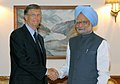 The Co-Chairman of the Bill and Melinda Gates Foundation, Mr. Bill Gates meeting the Prime Minister, Dr. Manmohan Singh, in New Delhi on July 25, 2009.jpg